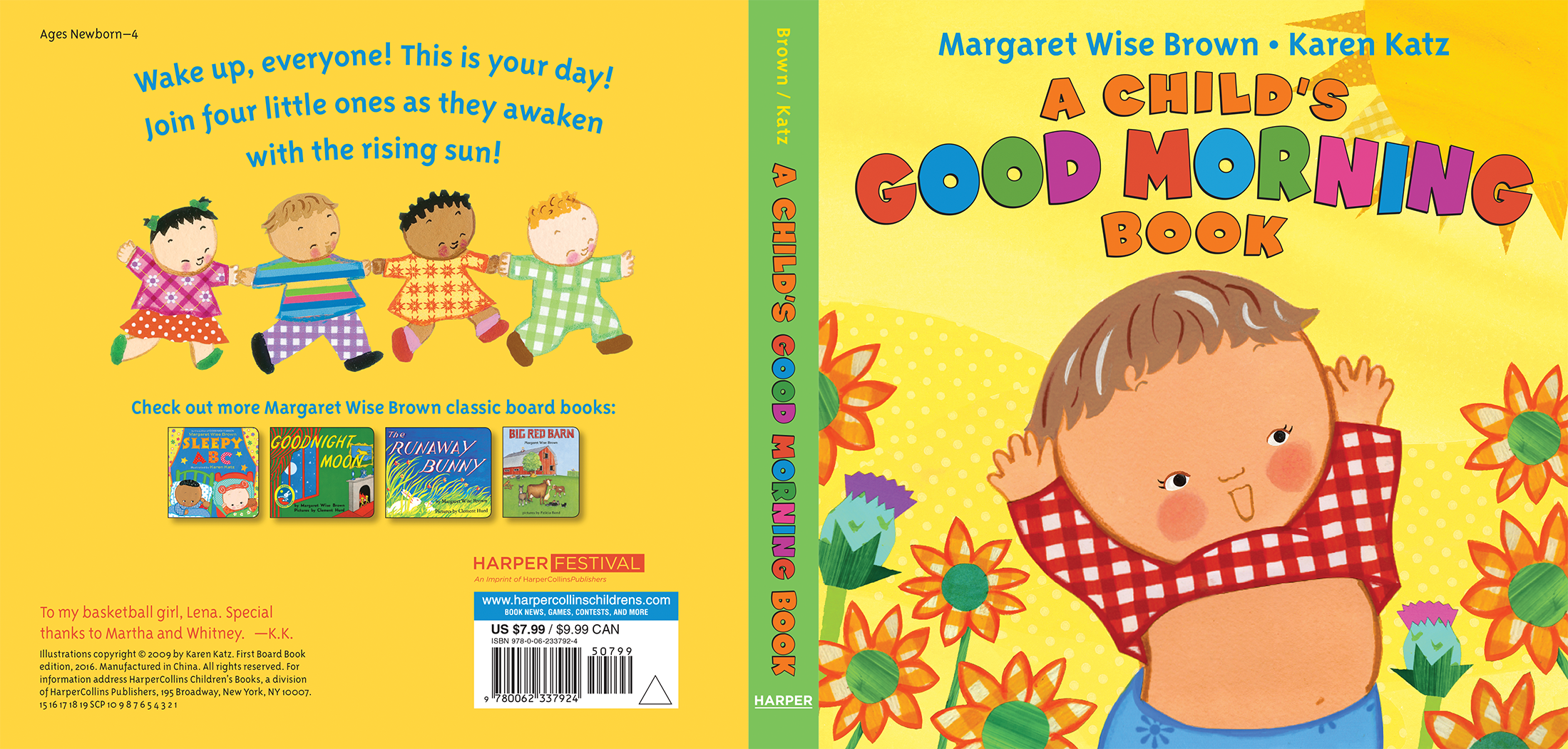 A Child's Good Morning board book