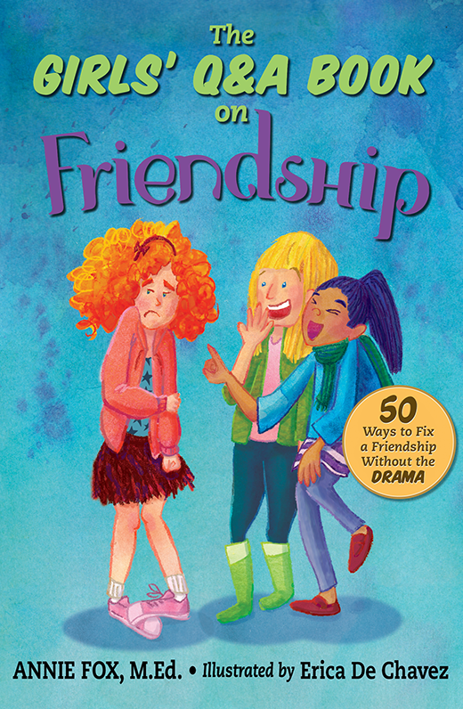 The Girls' Q&A Book on Friendship cover