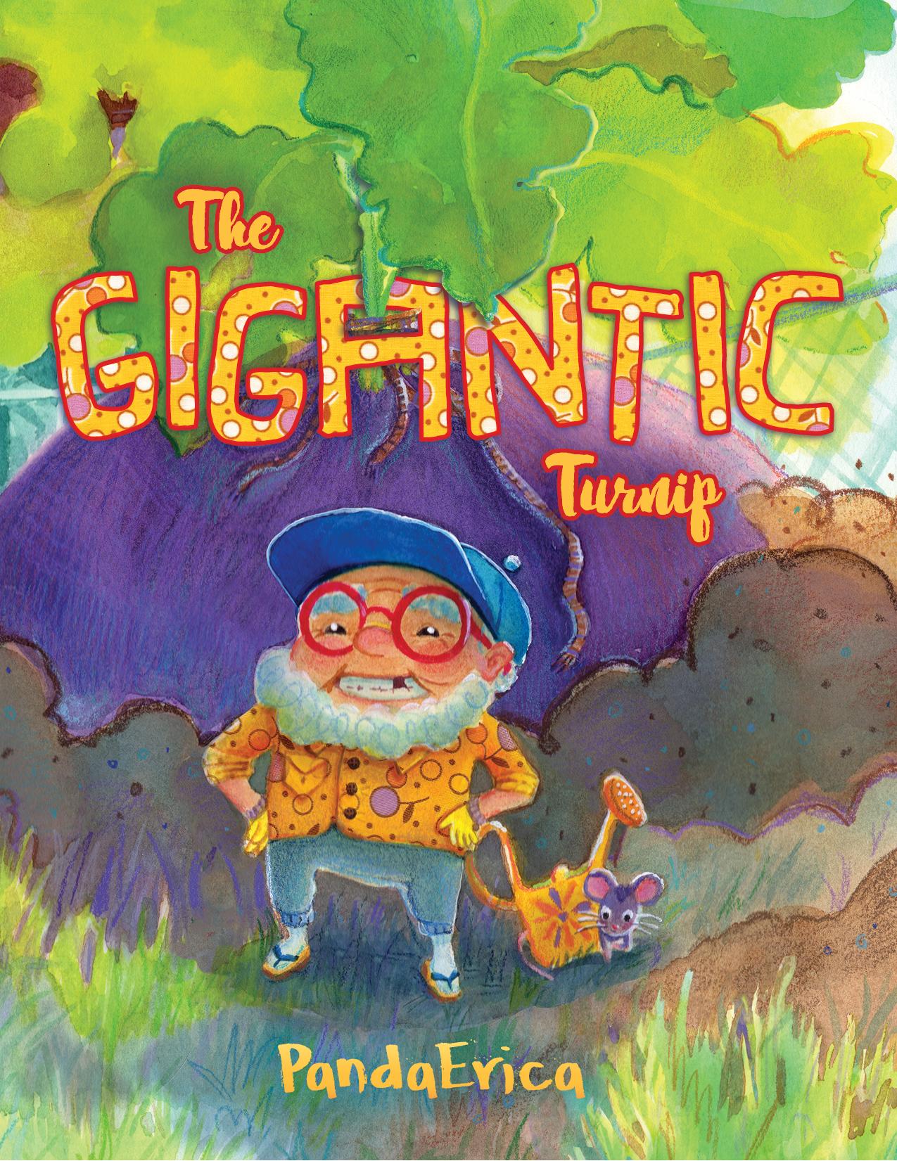 The Gigantic Turnip - Cover