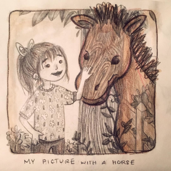 My Picture With A Horse