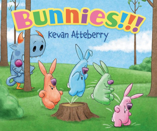 Bunnies!!! board book cover