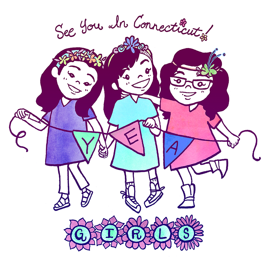 The YEA Girls: Connecticut Art Show