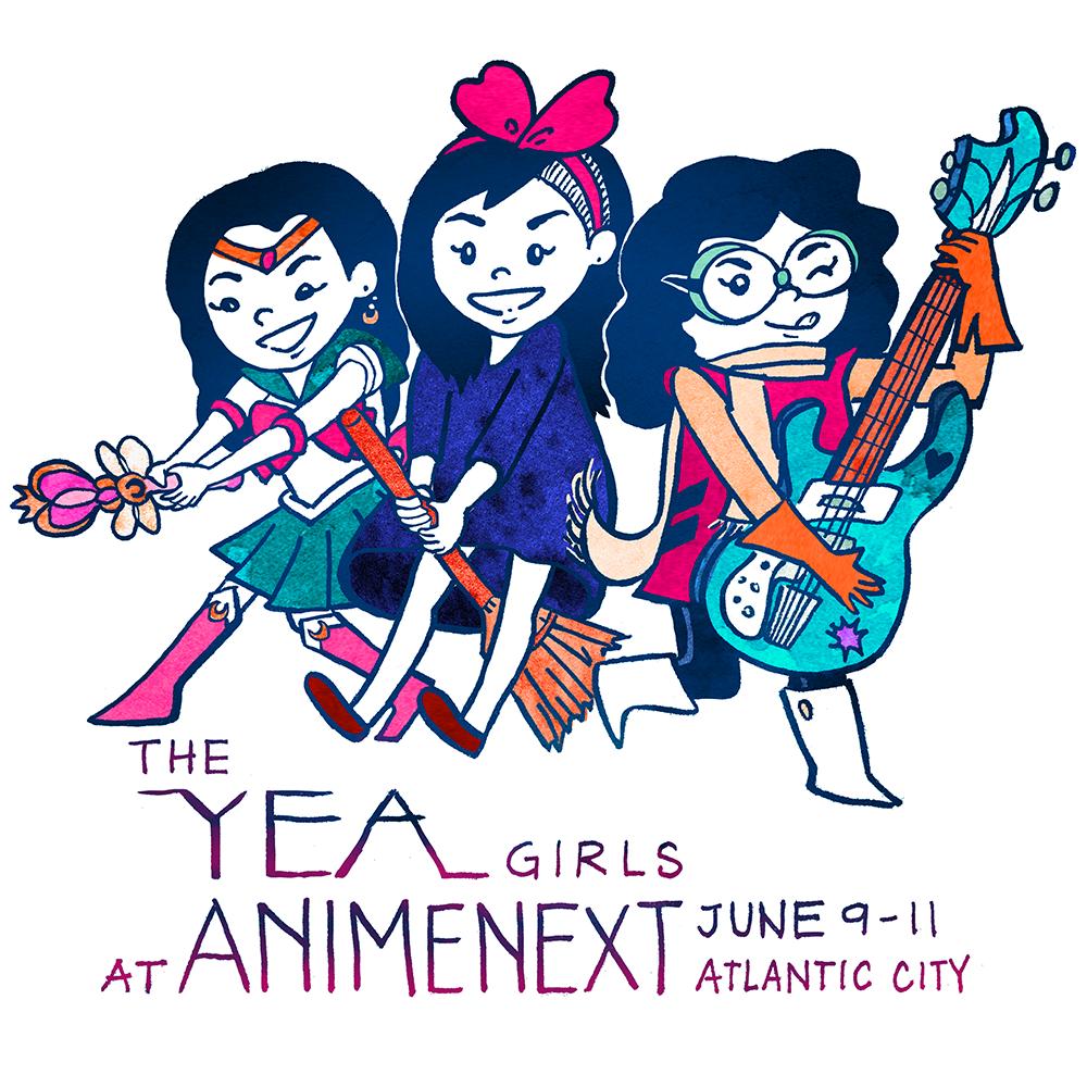 The YEA Girls: AnimeNext