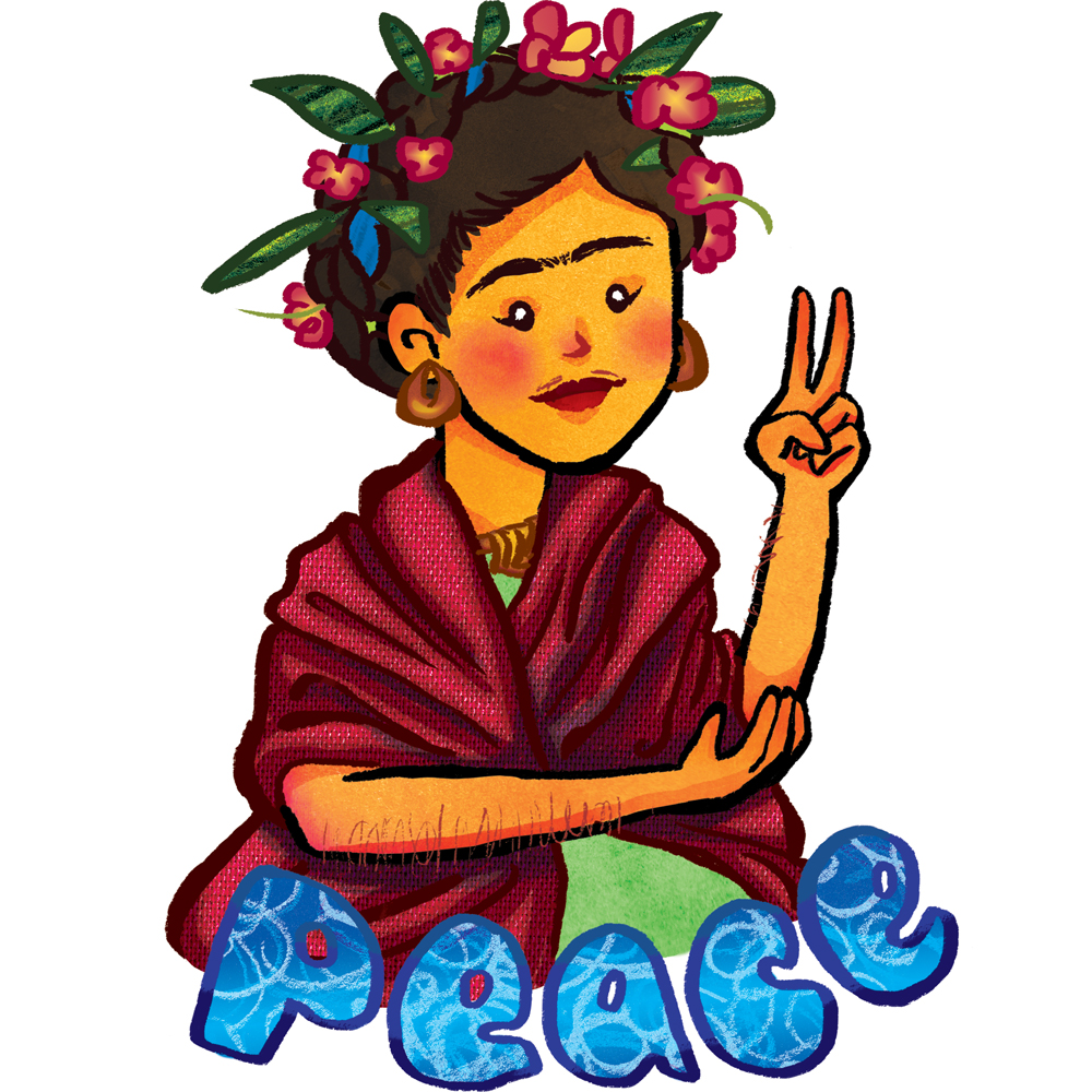 Frida Kahlo: Peace