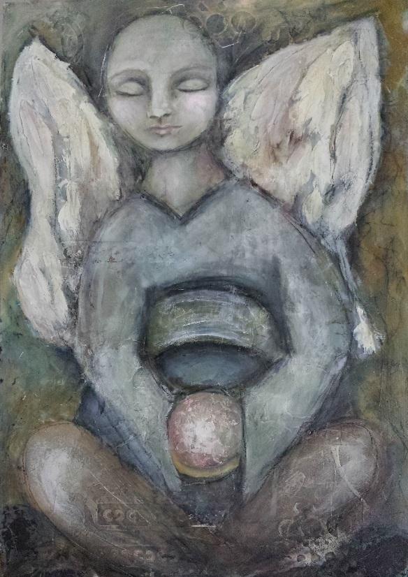 'Angel Study: Zen Angel'