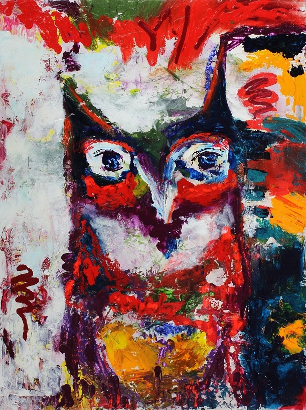 'Colorful Owl'
