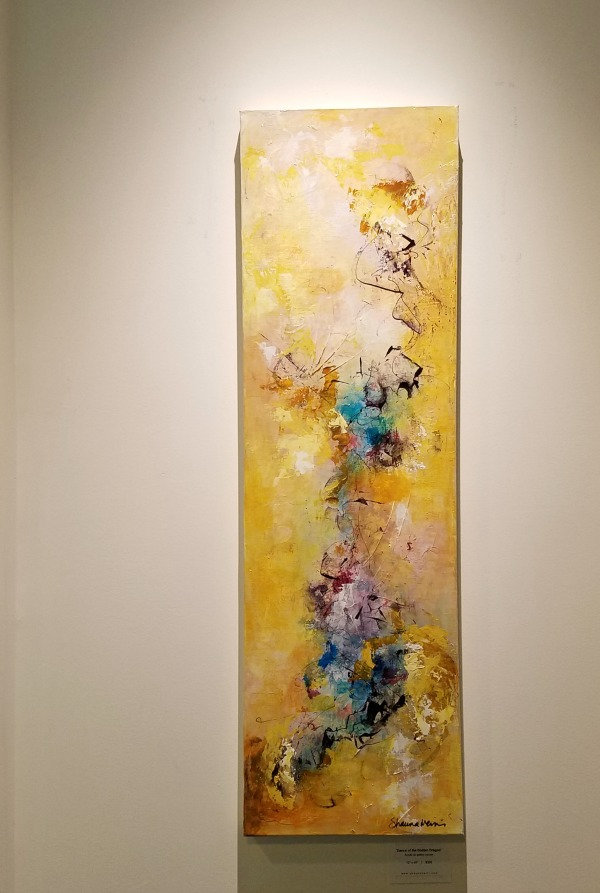 """Dance of the Golden Dragon"" 12"" x 40"" $395"
