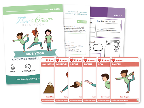 PDF format, just download & print!  Perfect for use at home, school, camps or clubs.