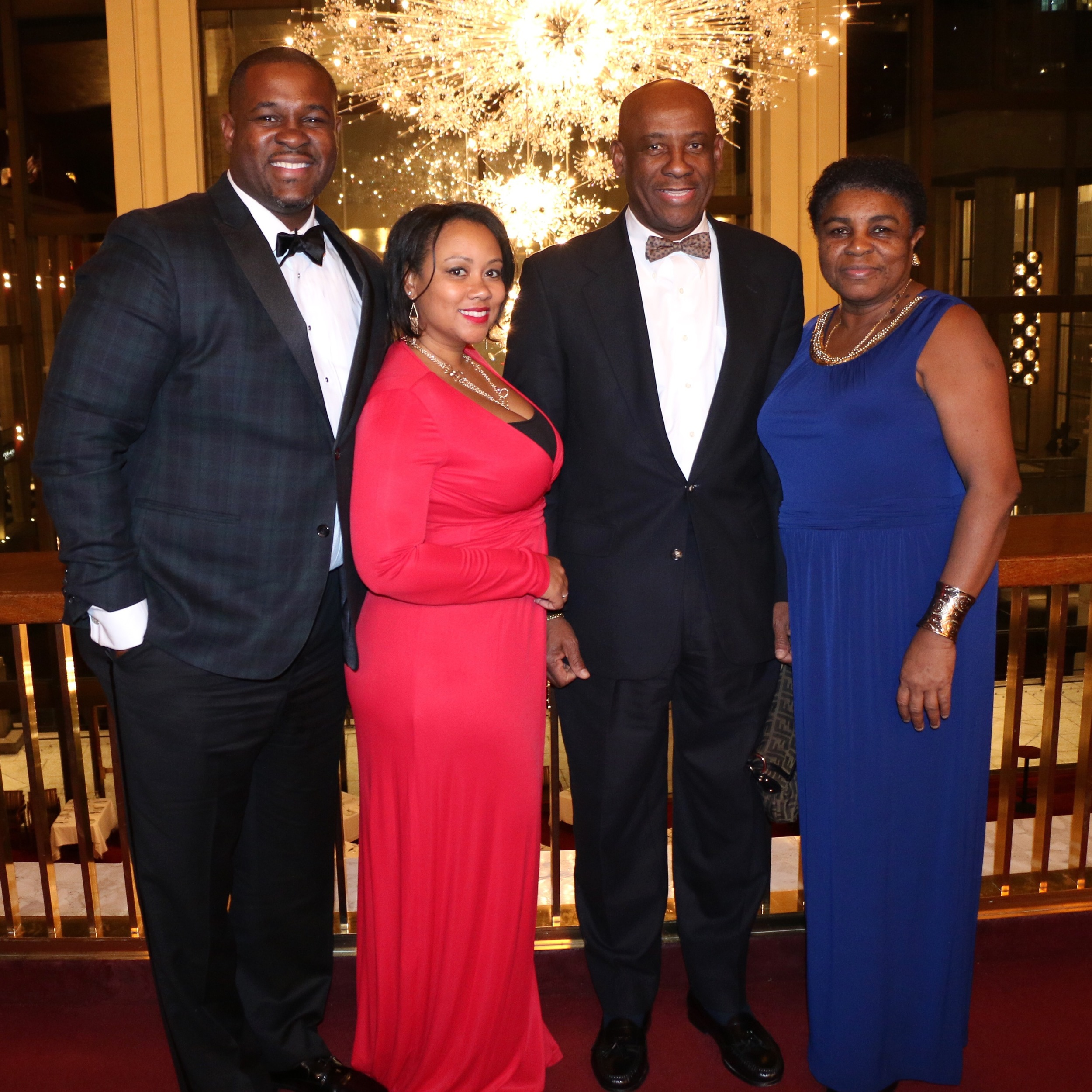 The Kinch Family at Lincoln Center