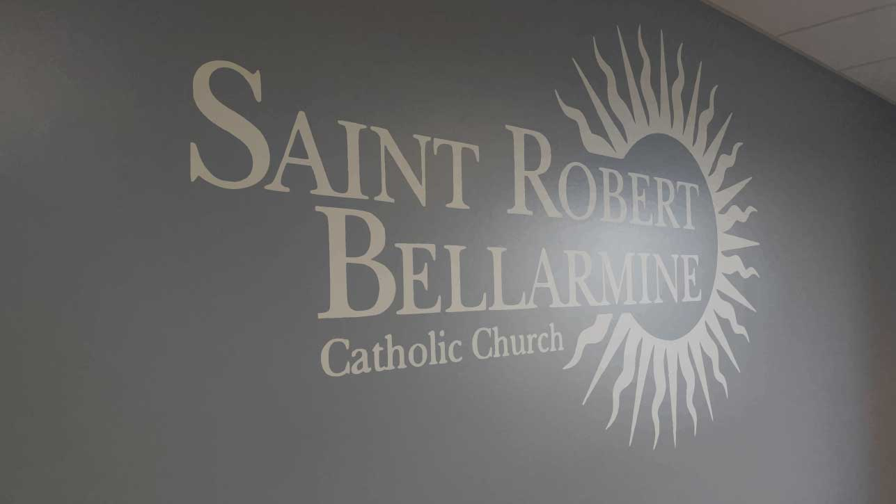 Big Picture Imagery Visual Group - Signage Company - Warsaw IN Indiana - Saint Robert's North Manchester - Wall Lettering.jpg