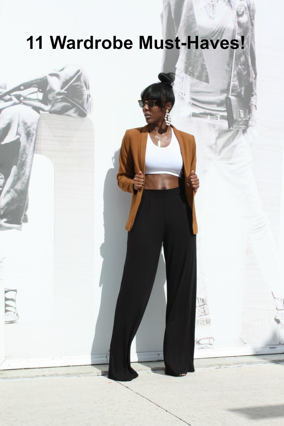 11 Wardrobe Must-Haves
