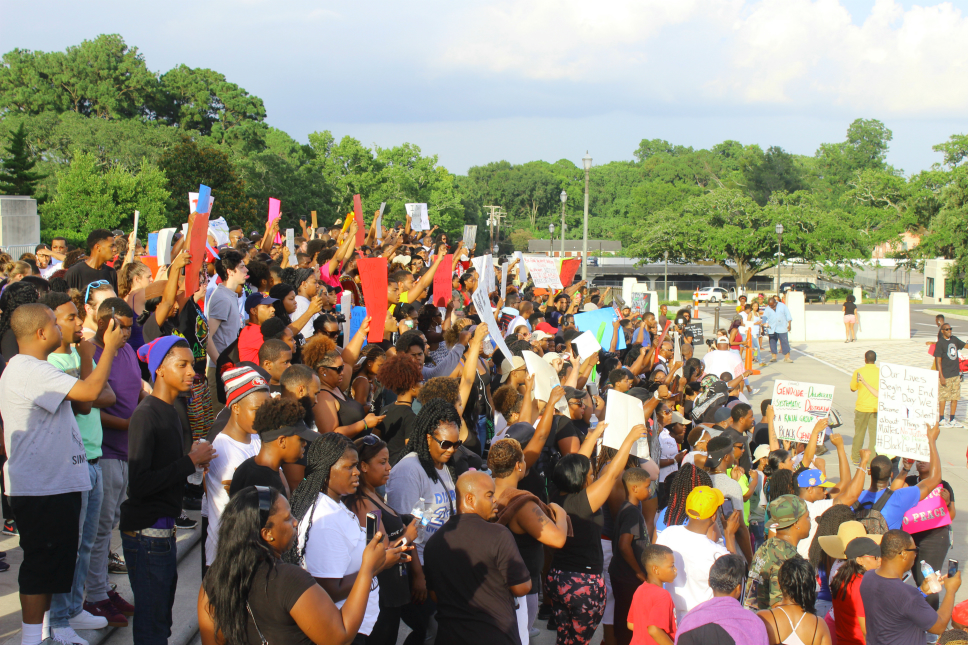 Baton Rouge Protest for Alton Sterling