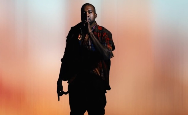 Kanye West saying shhhhh....