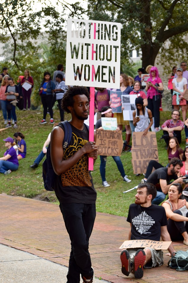 Photo Credit: Bestofneworleans.com. Retrieved 01/22/17. http://www.bestofneworleans.com/gambit/womens-march-new-orleans-and-march-for-revolution/Slideshow/3096069/3096076