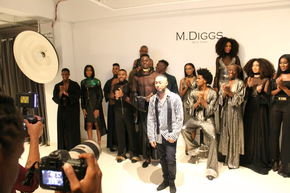 M. Diggs The Mahogany Collection FW 2017