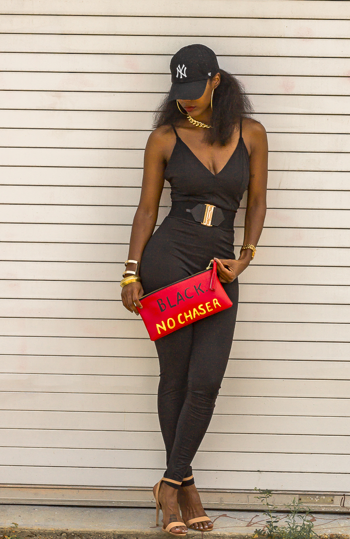 Trendy Black Jumpsuit