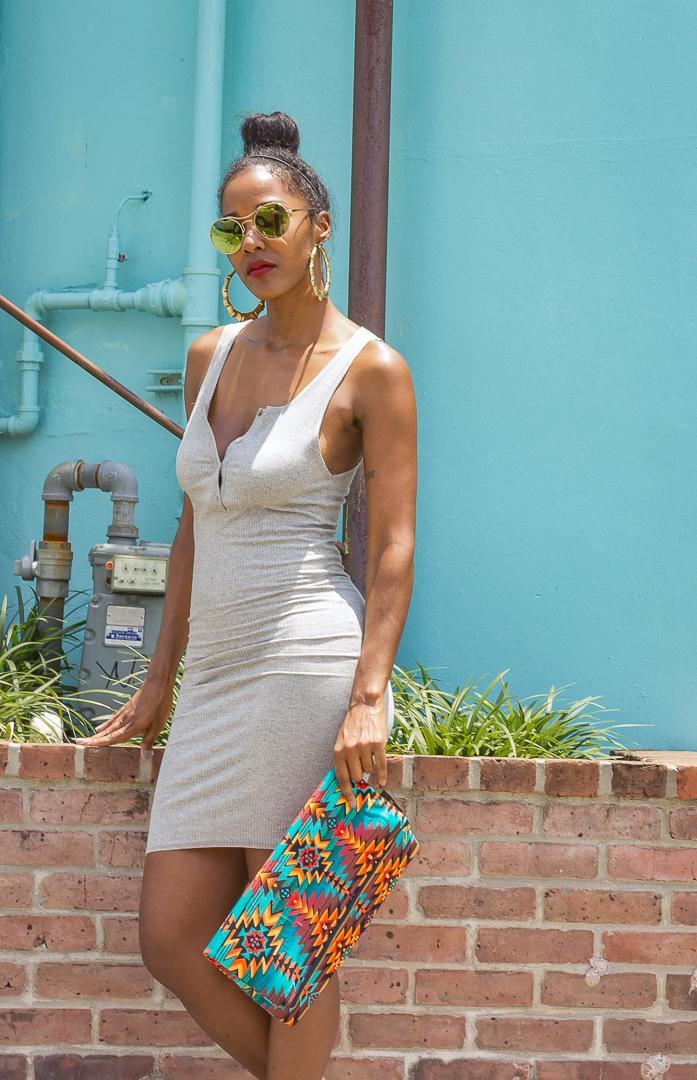 Aztec Clutch bag - Unik Fashion Design