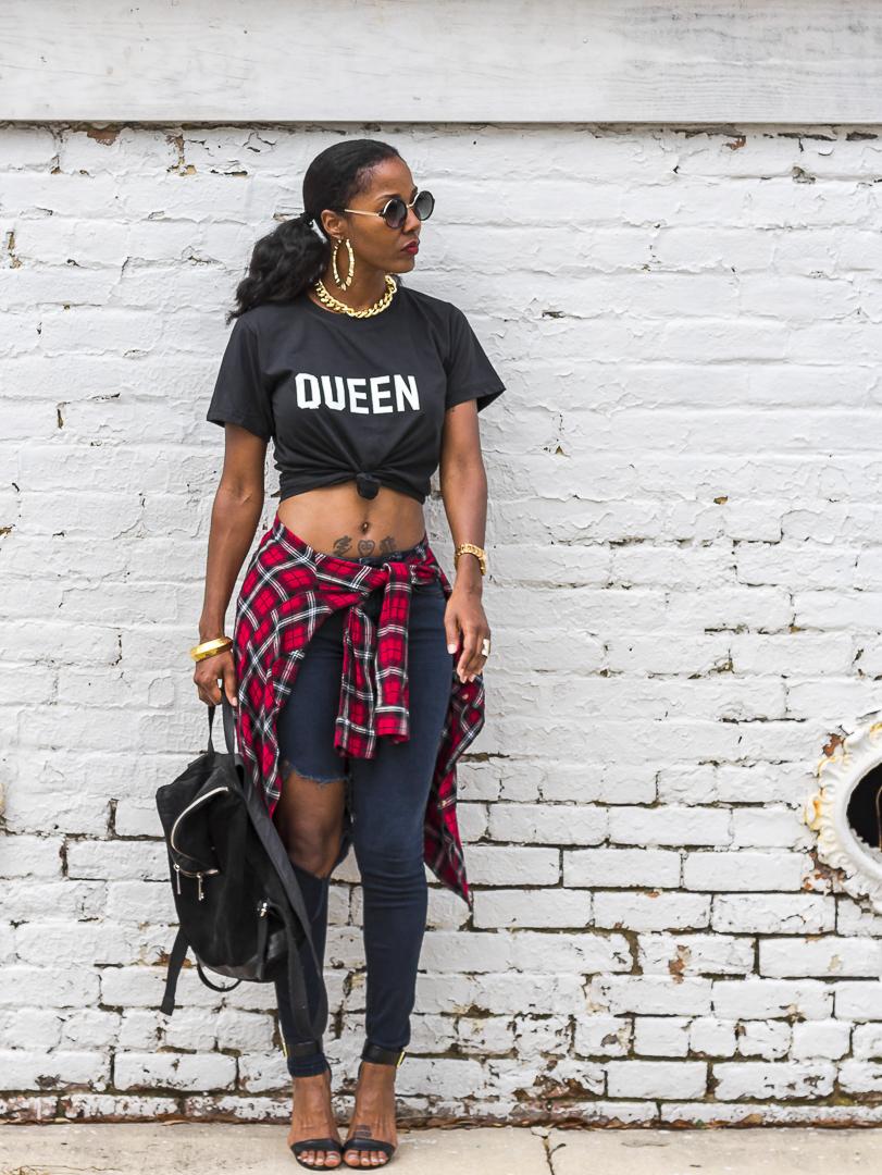 HYPEBLVD Queen t-shirt