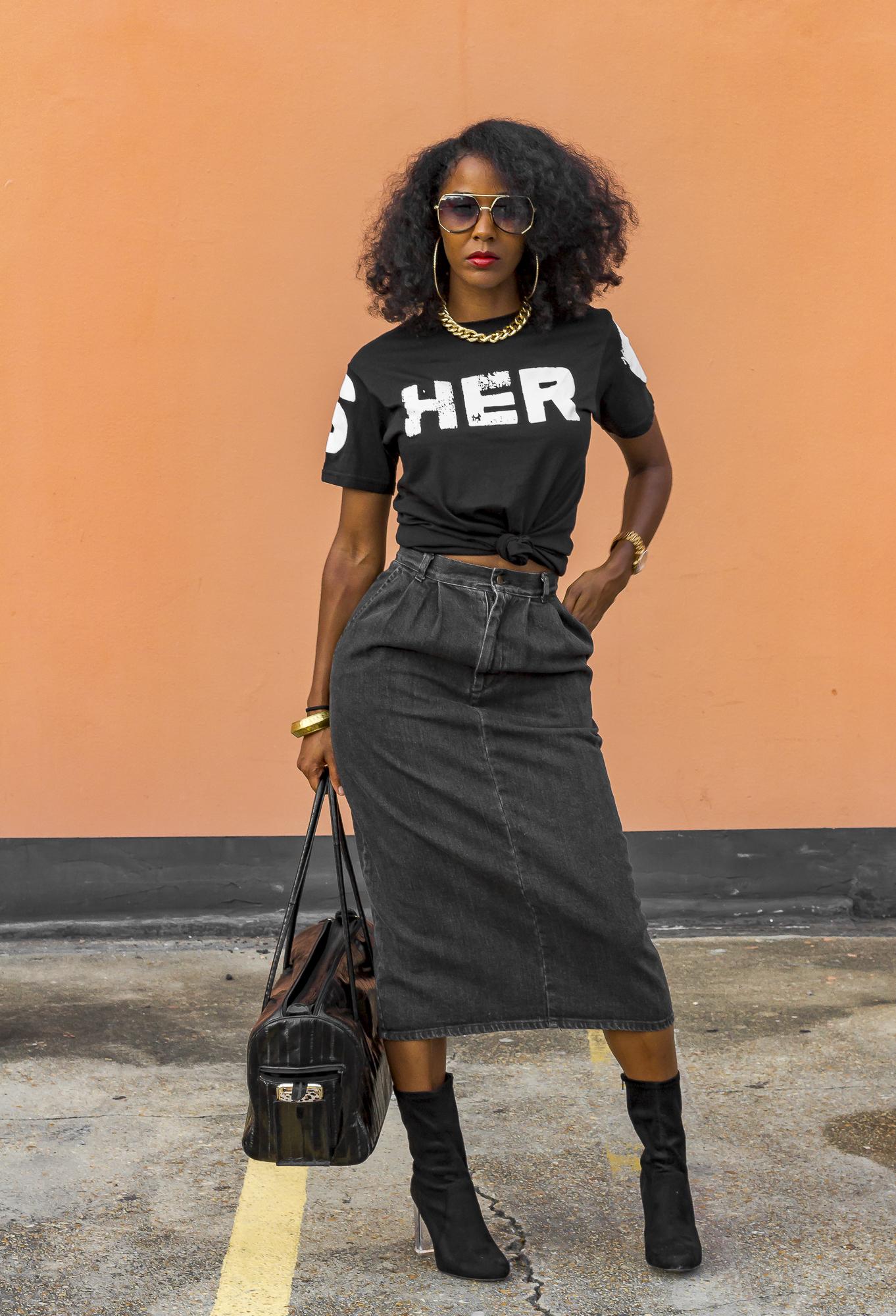 Stuzo Shero Black T-Shirt