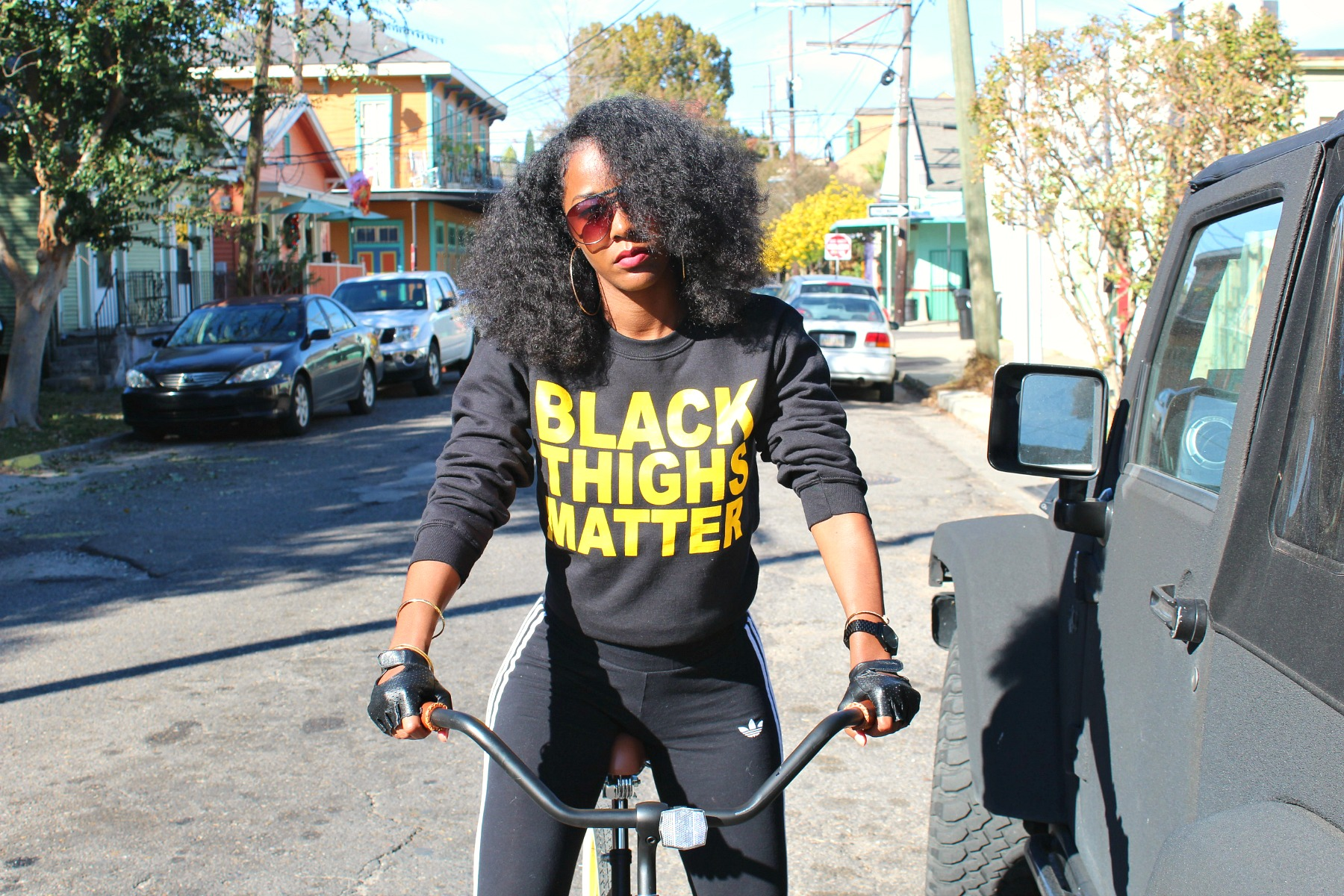 Black Thighs Matter Sweatshirt