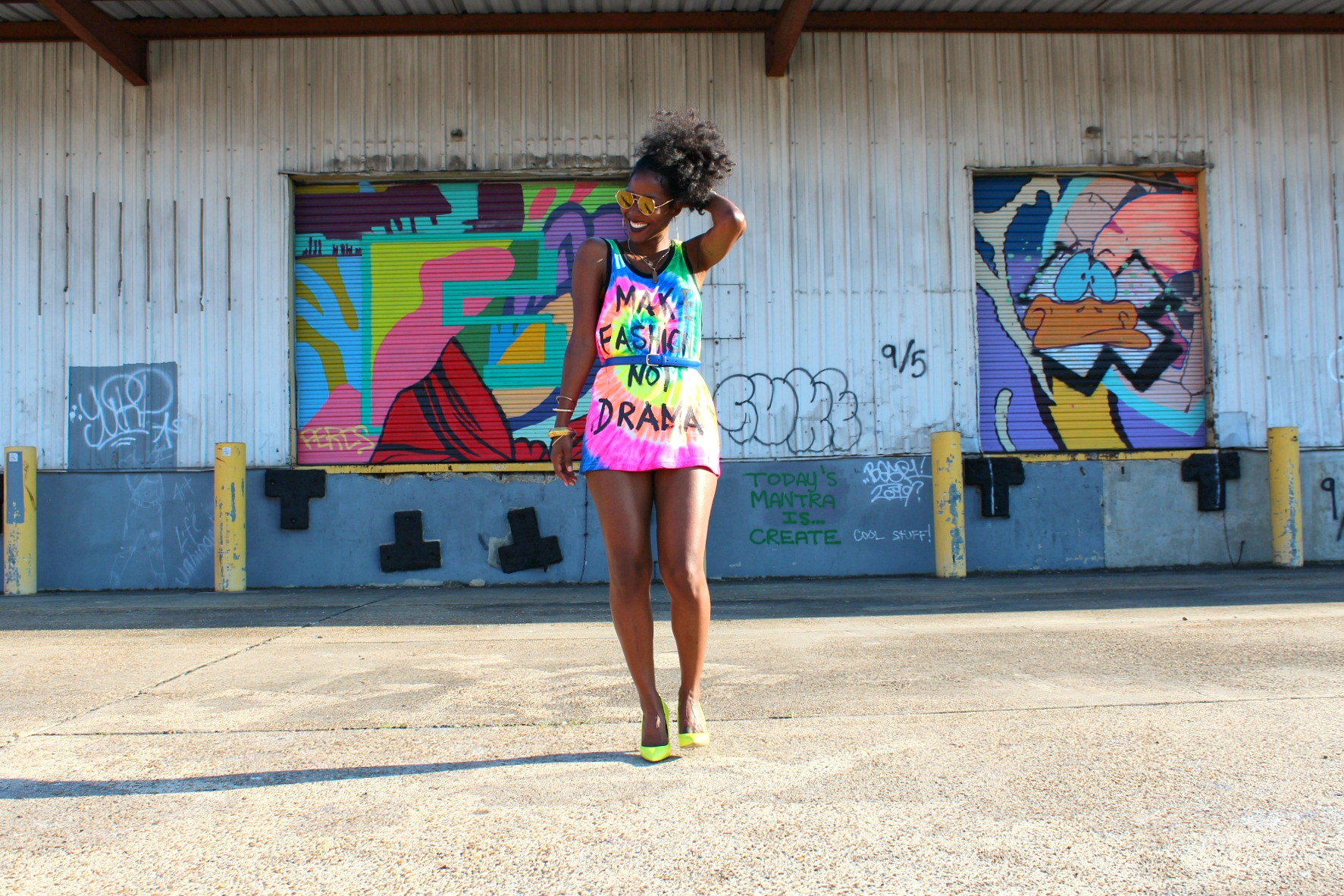 Make Fashion Not Drama Tank