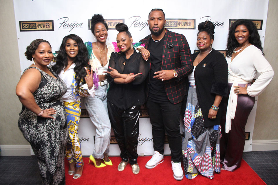 Left to right: Dee Rouzan, Denisa, Me, Mia X, Reg Rob, Dr. Bristol, Cierra Johnson