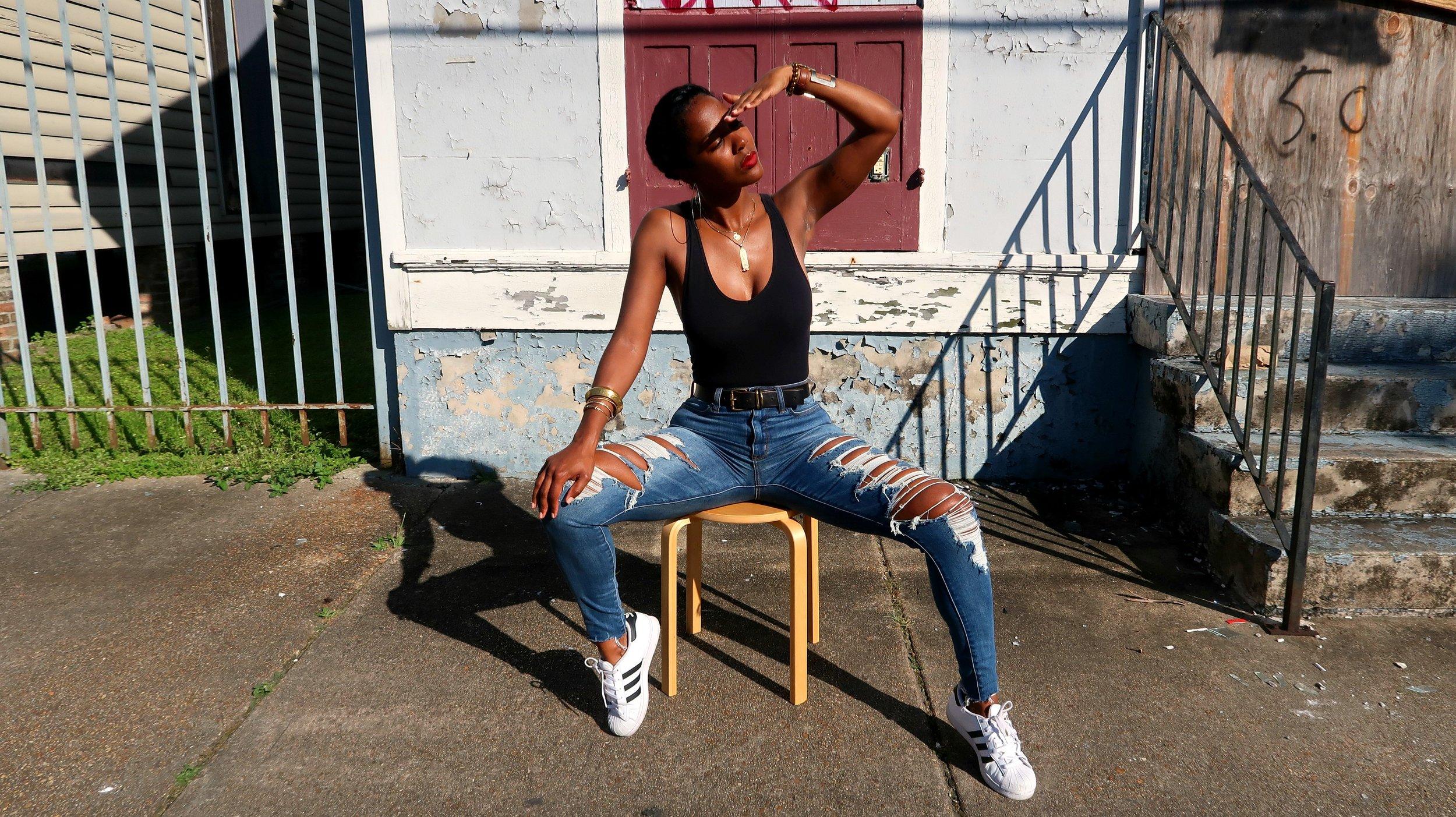 Style Blogger Samjah Iman - Nola Fashion Blogger