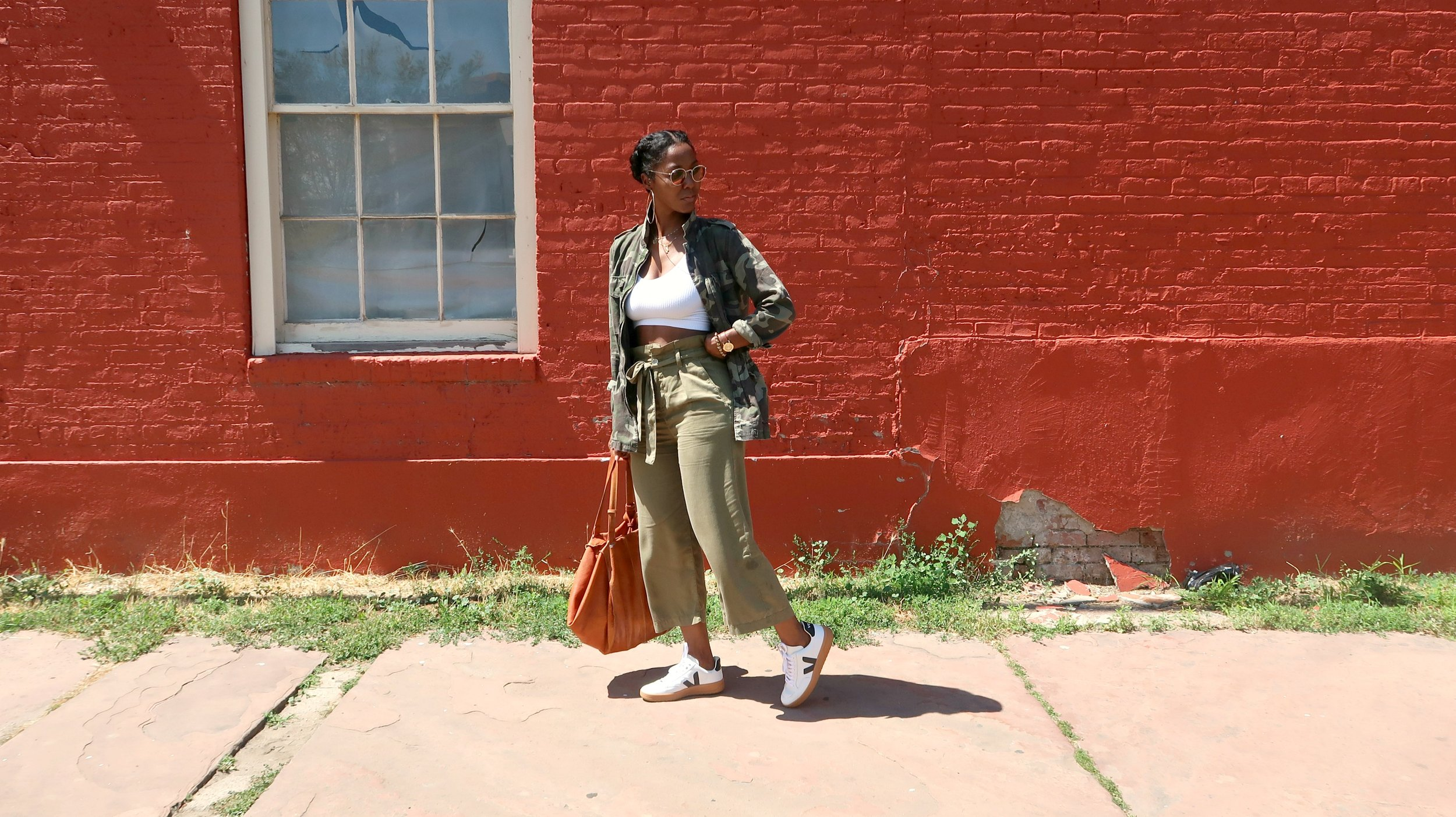Veja Sneakers + New Orleans Fashion Bloggers