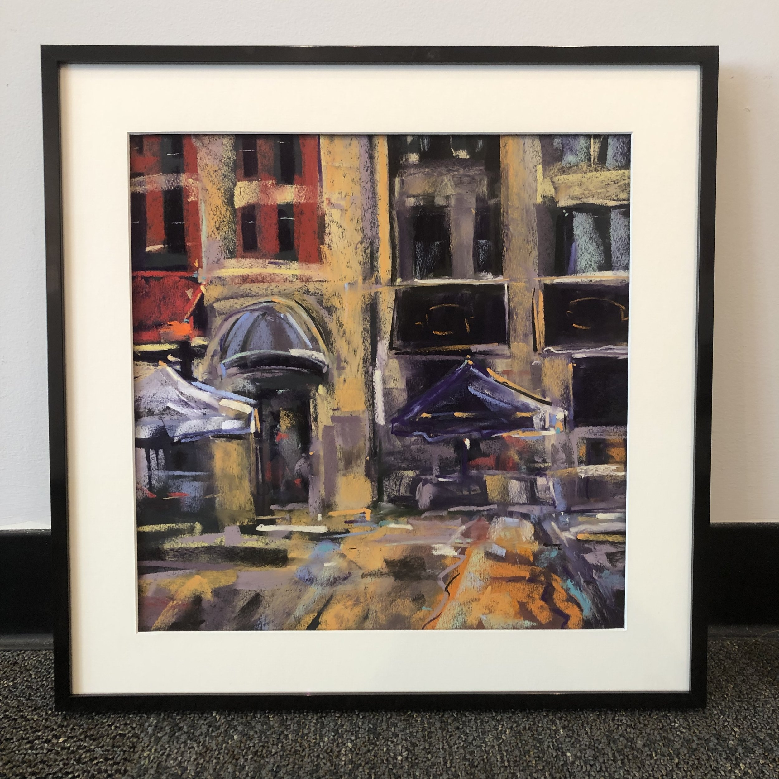 "Saturdays on Short Street   2nd Place,  ""Paint The Town""   sponsored by Arts connect  June, 2019  Sold?Private Collection"