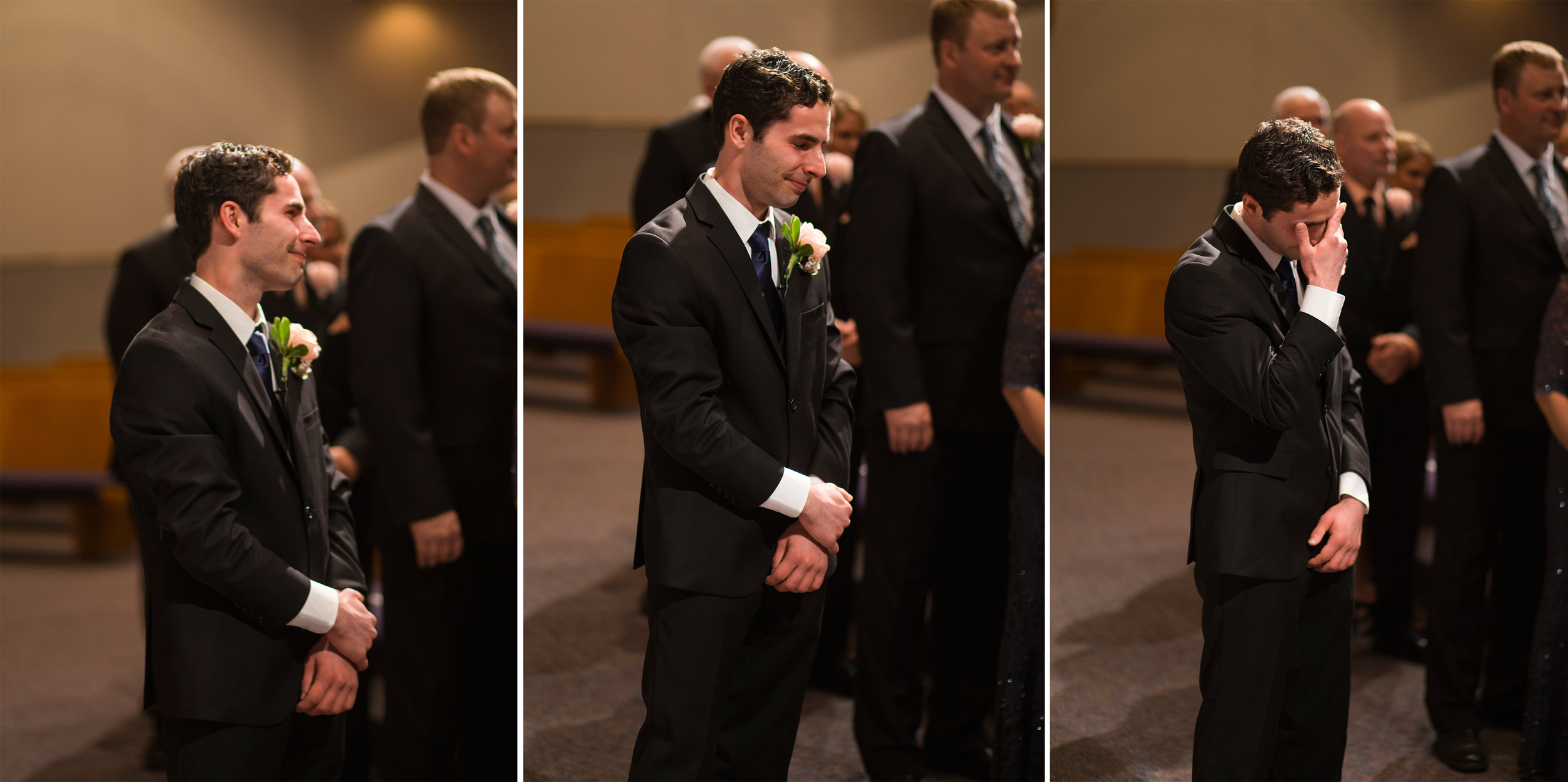 Congratulations, Matt. You're the first groom to make me cry when I'm trying to take pictures. And now I'm going to make everyone else cry, too!