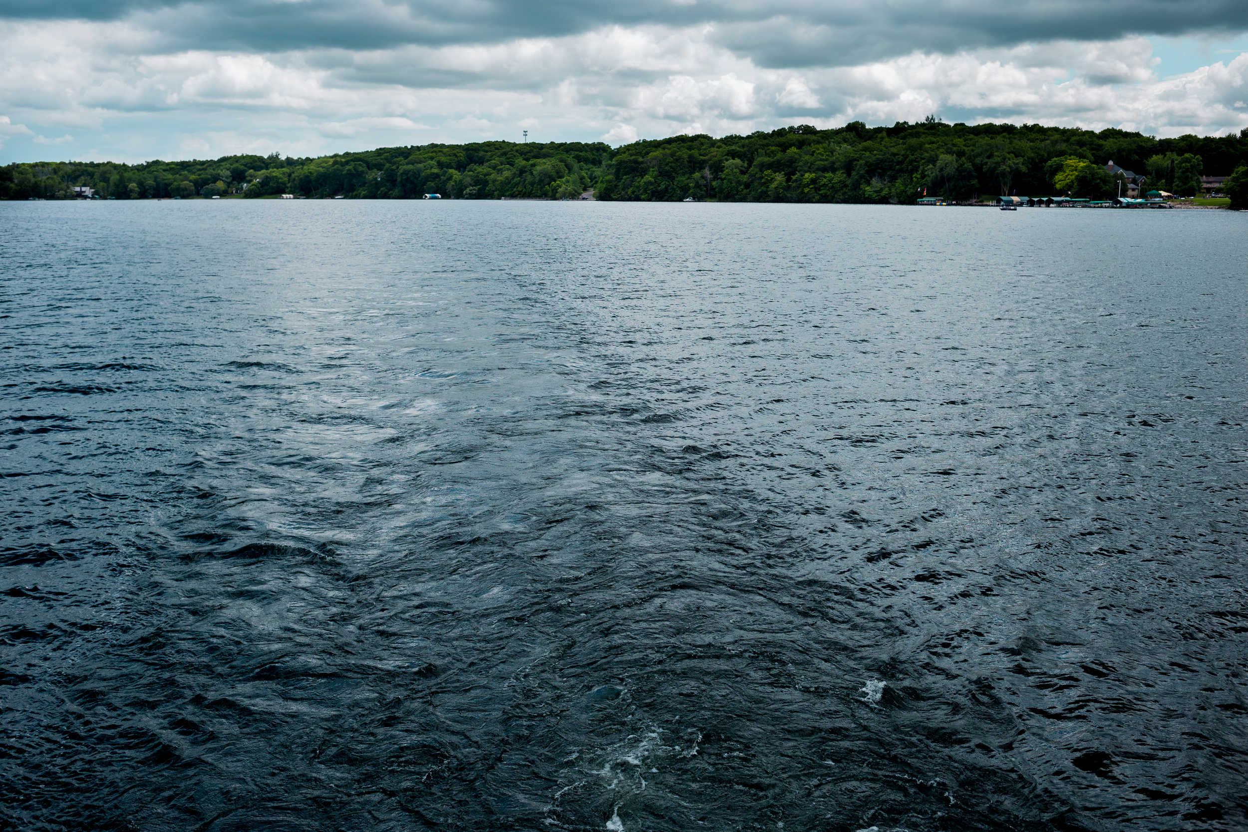 Minnesota has some of the most beautiful lakes.