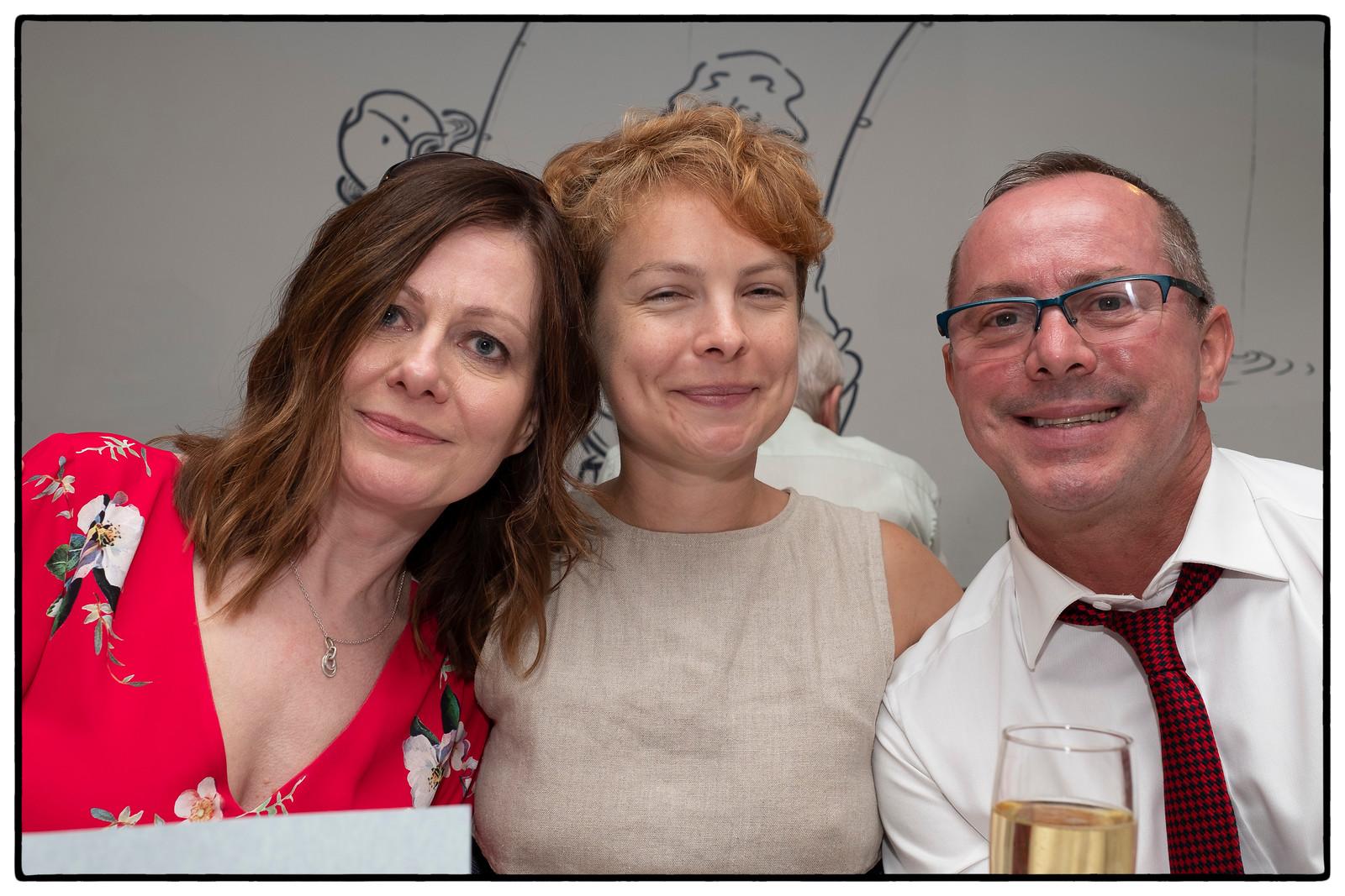 Jen, Tanya and John