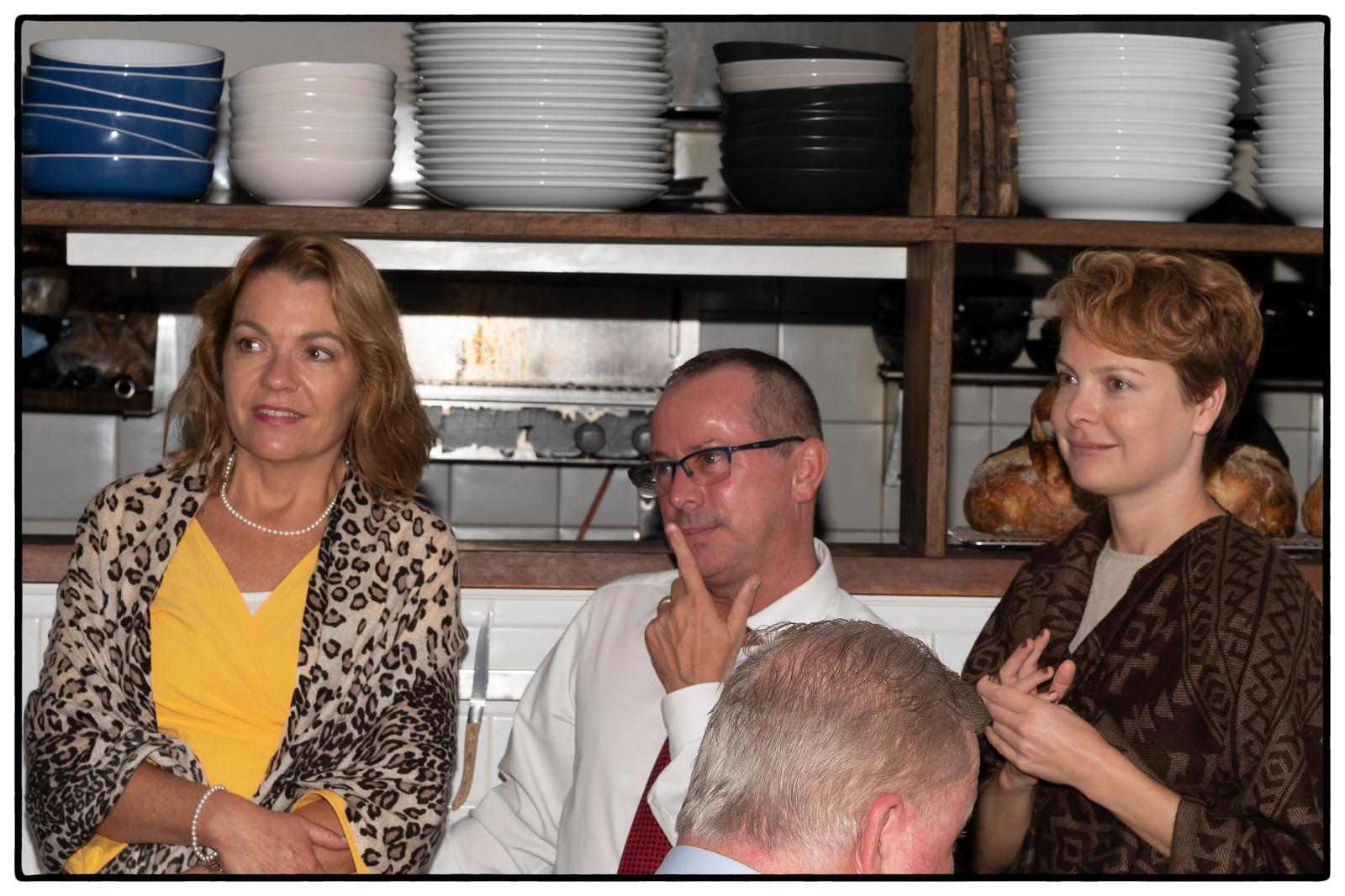 Angie, John and Tanya