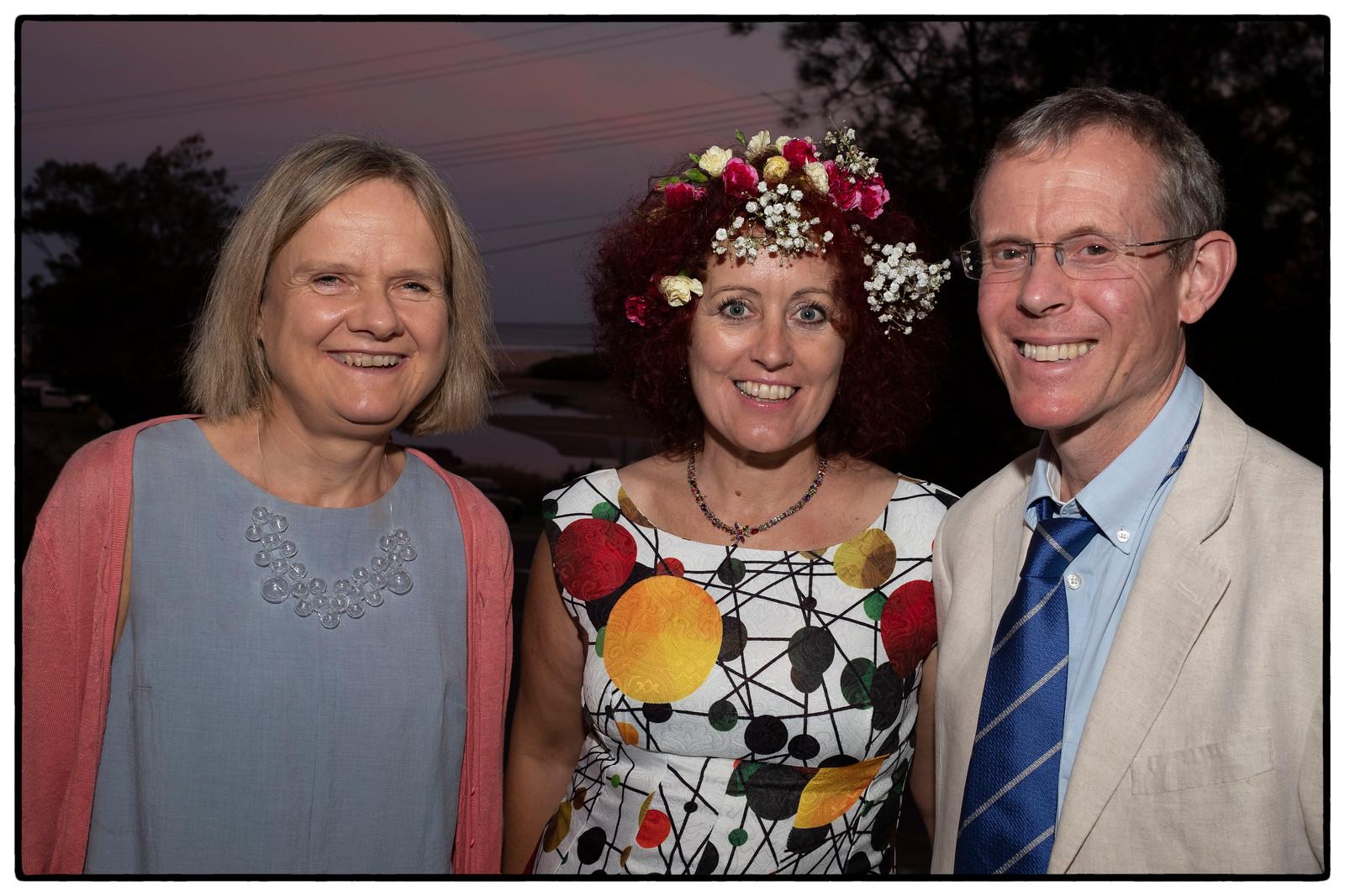 Wendy, Karen and Hal
