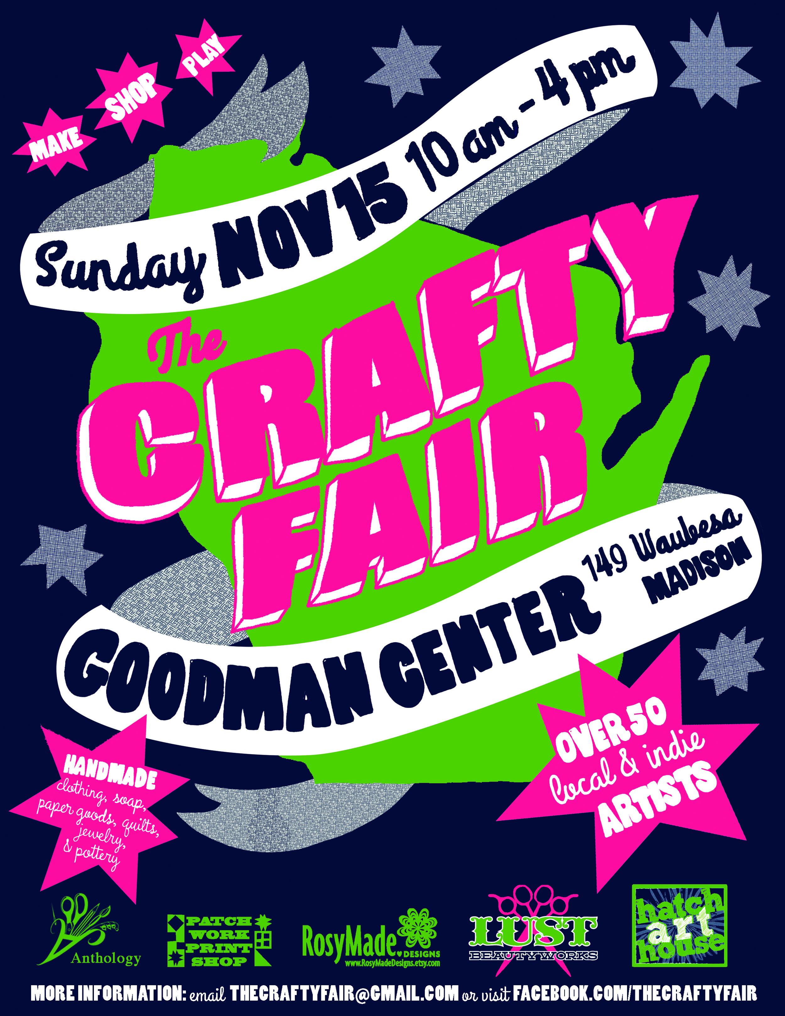 Crafty Fair 2015 Flyer