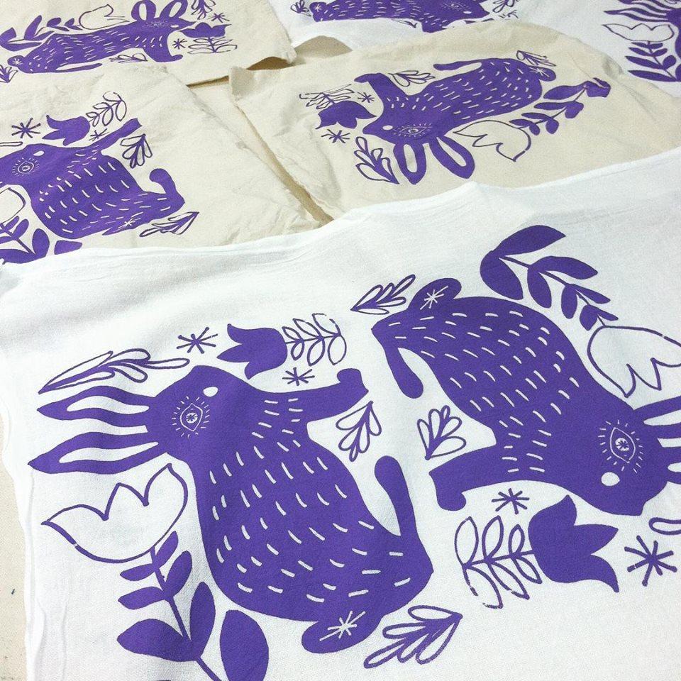 Purple Bunnies (Bubbler Demo)
