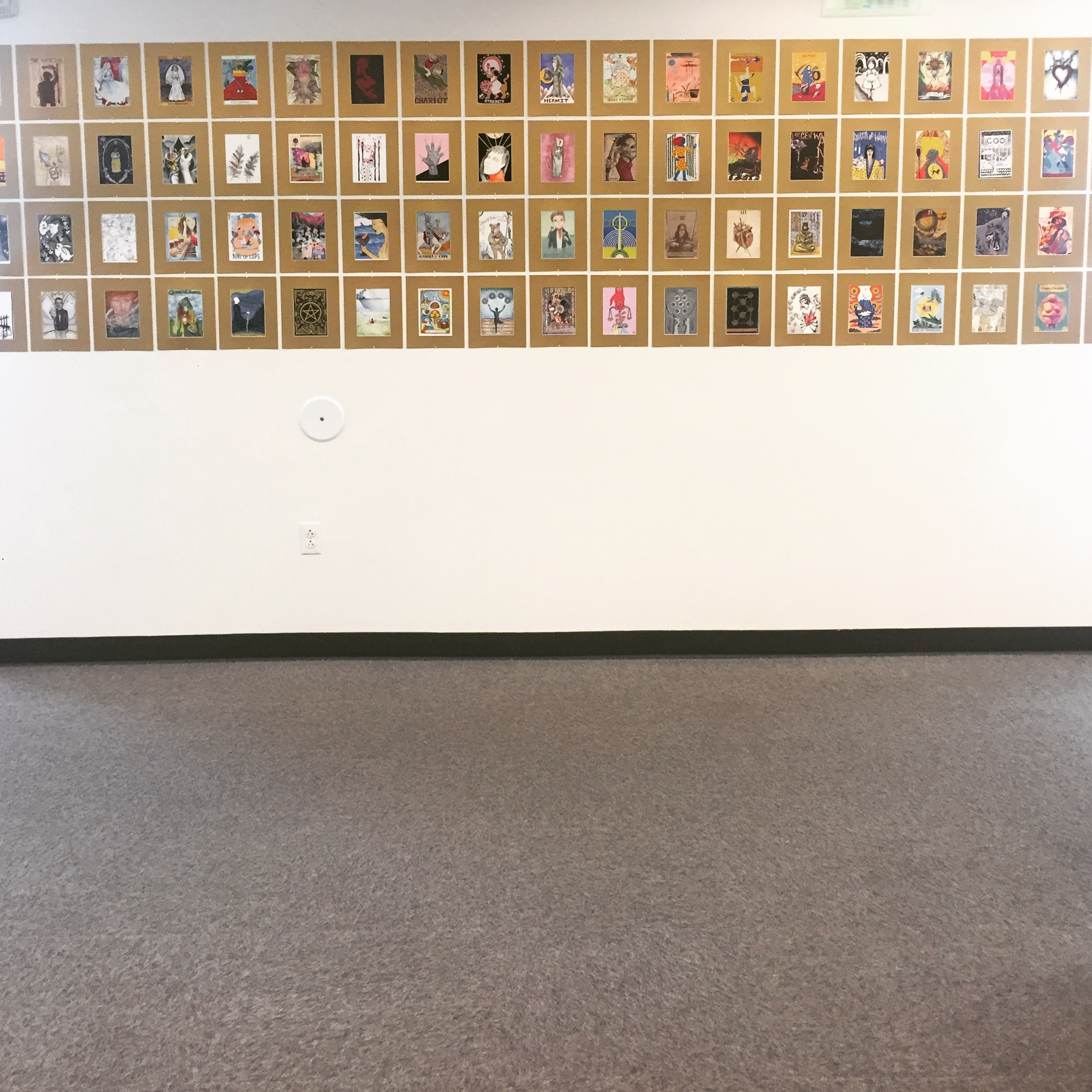 Tarot Art Show (curated at Madison Bubbler, April 2017)