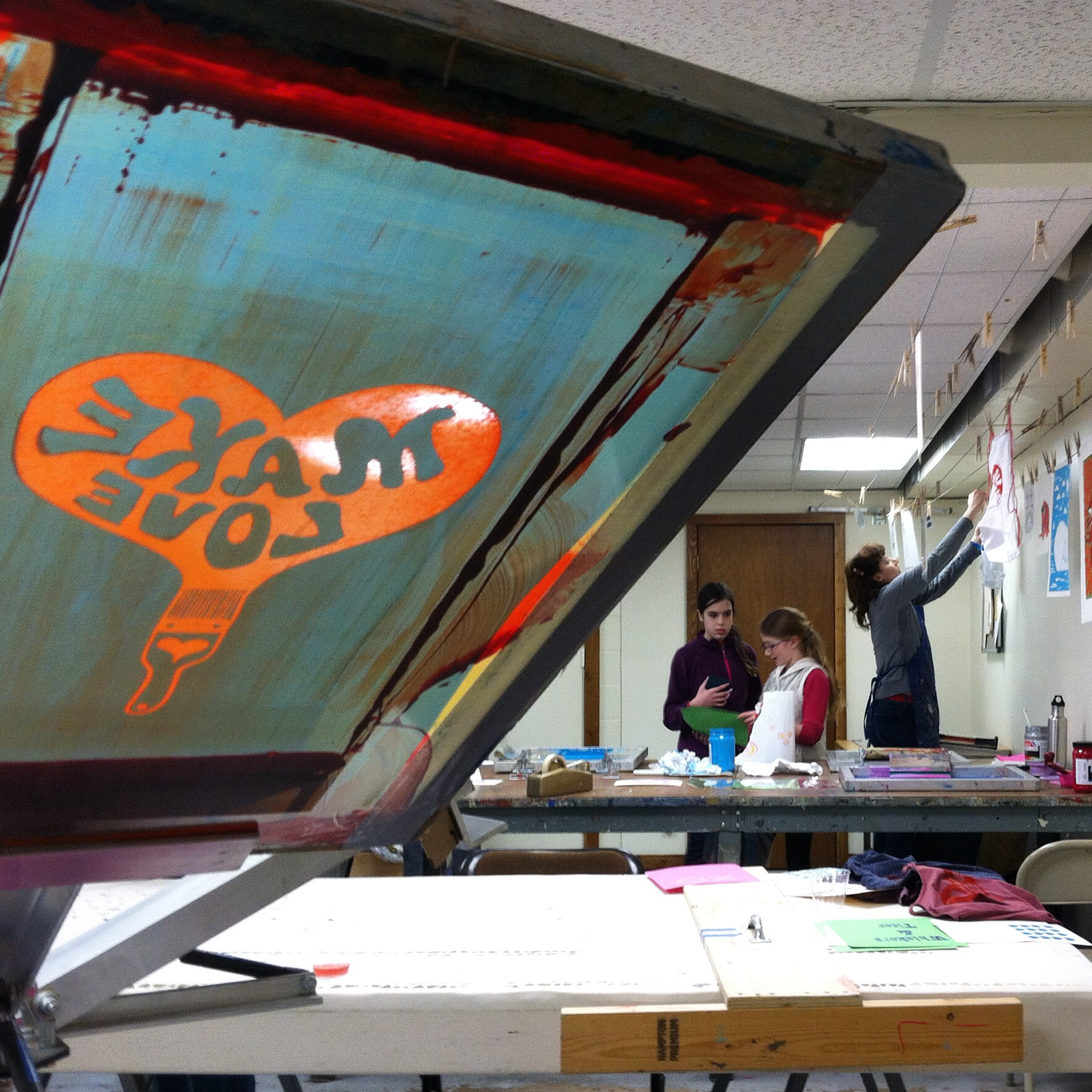 Valentine's Day Open Studio at Polka Press