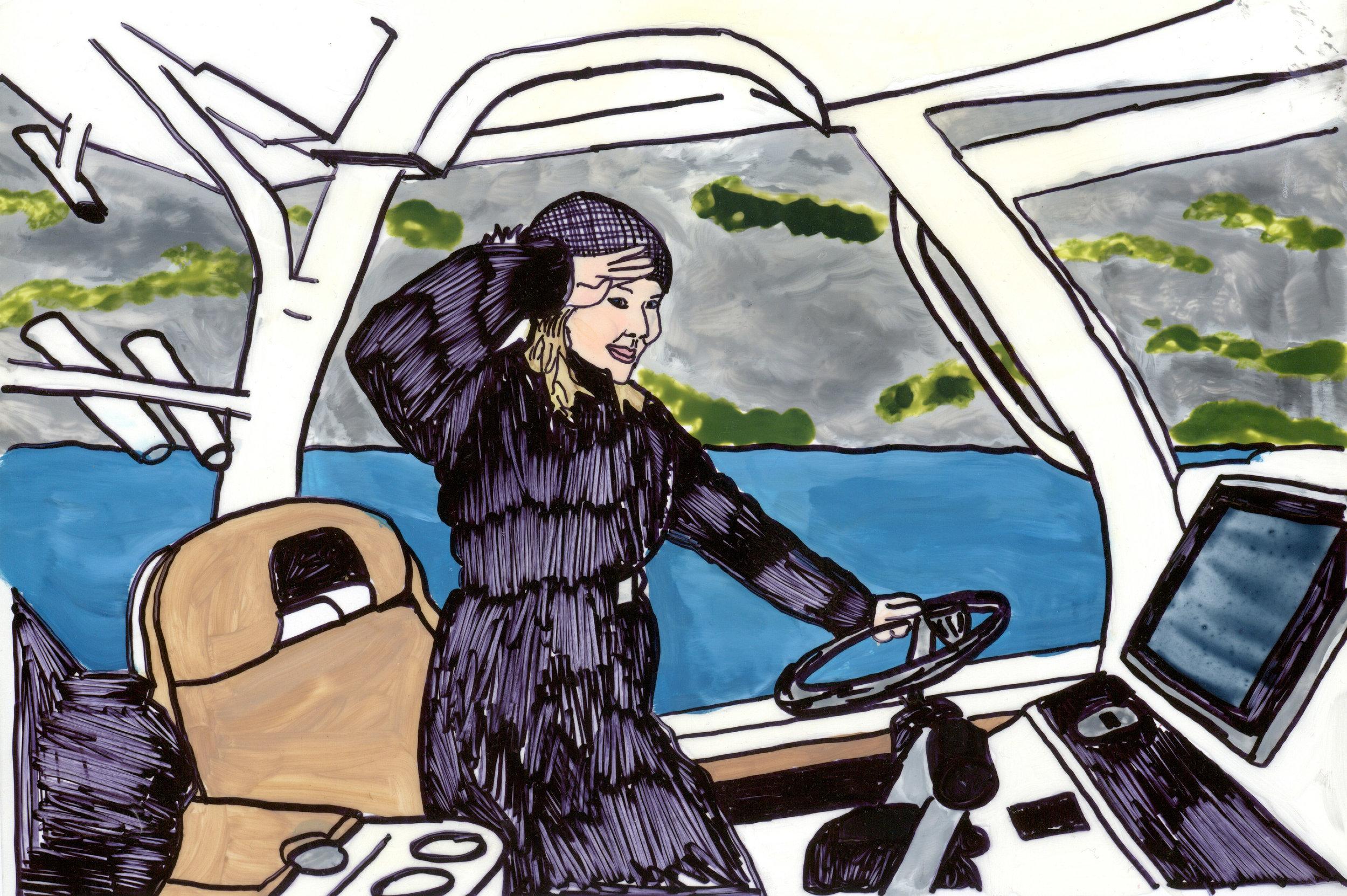 Captain Mellie- badass women project #2