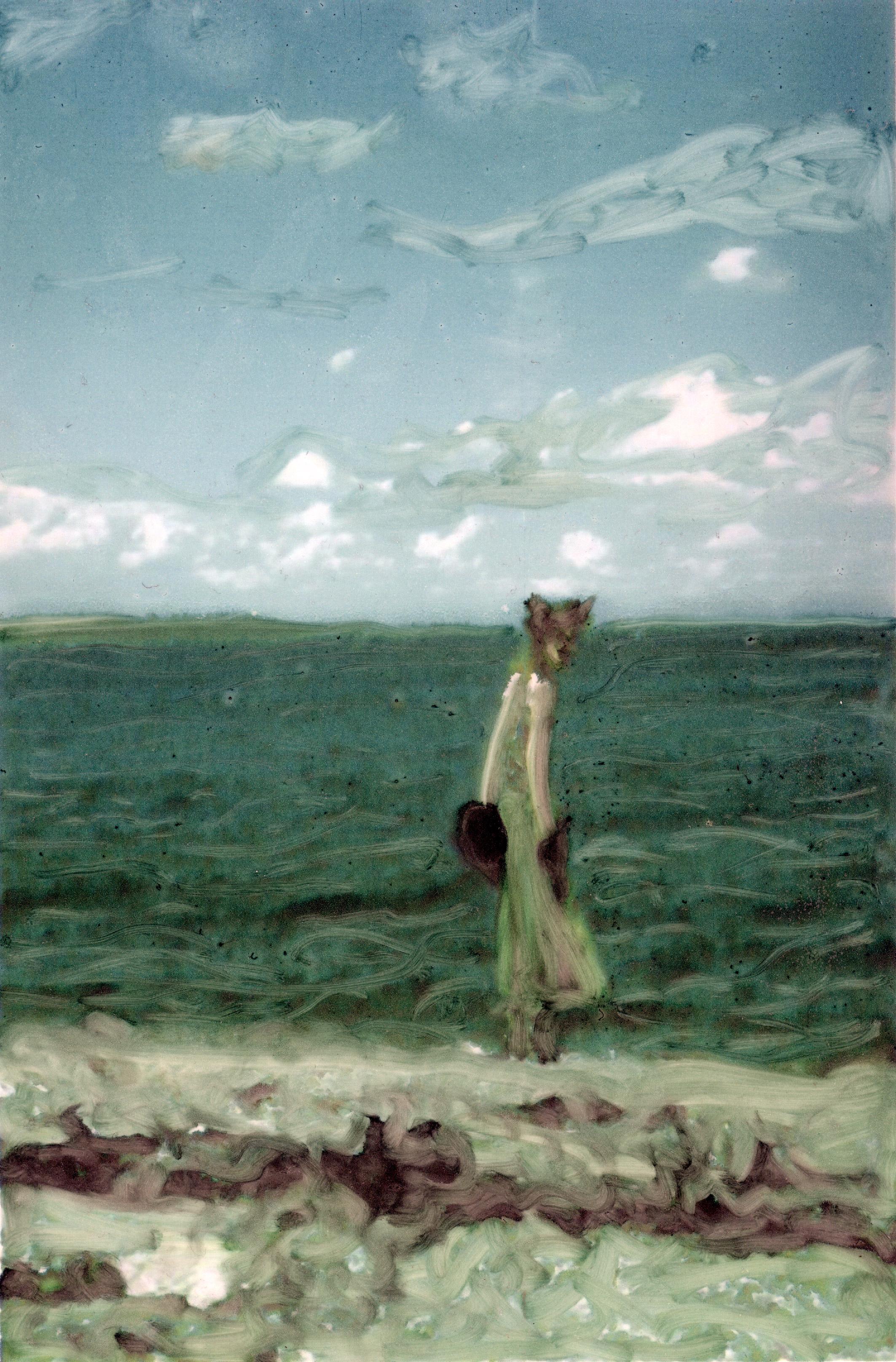 Hannah by the sea