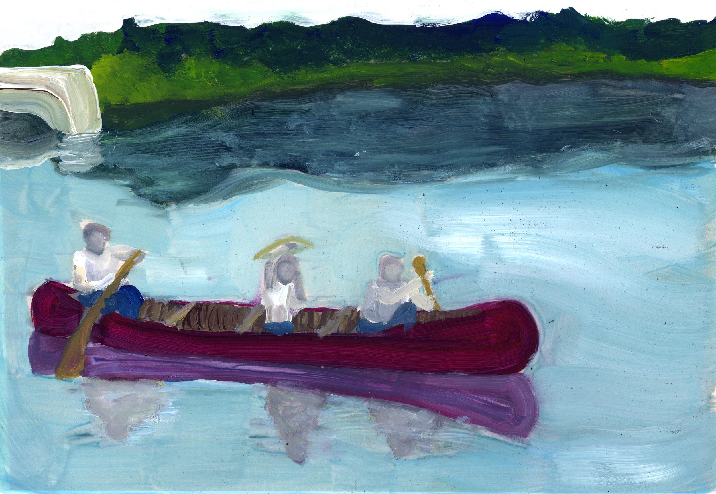 Summertime on the creek