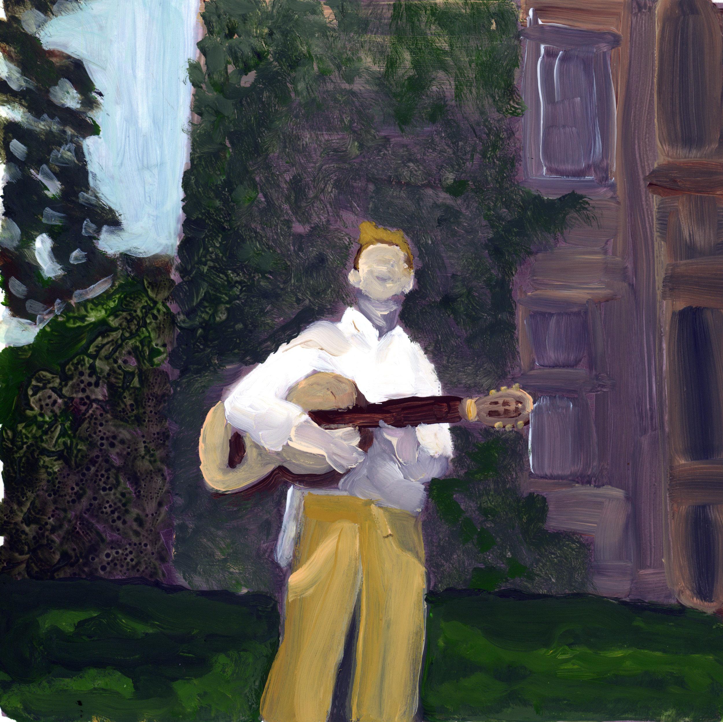 the troubador