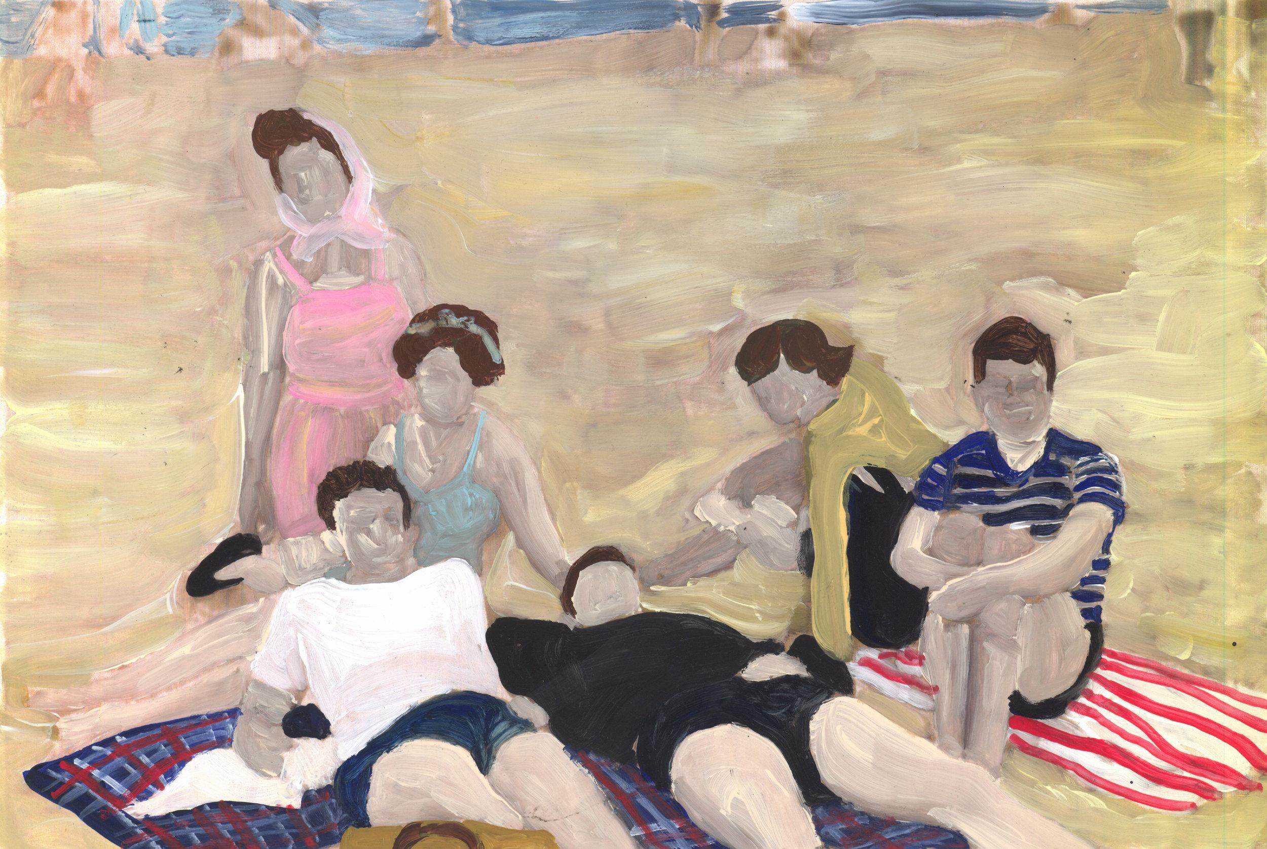 Rockaway beach day