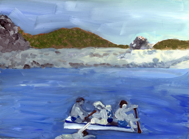 rafting in Venezula