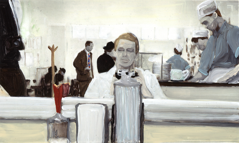 1930's diner selfie