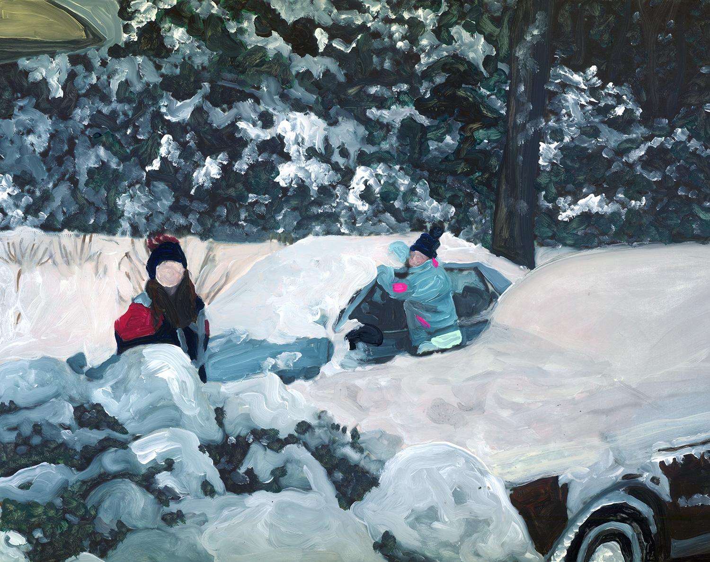 snow day labor