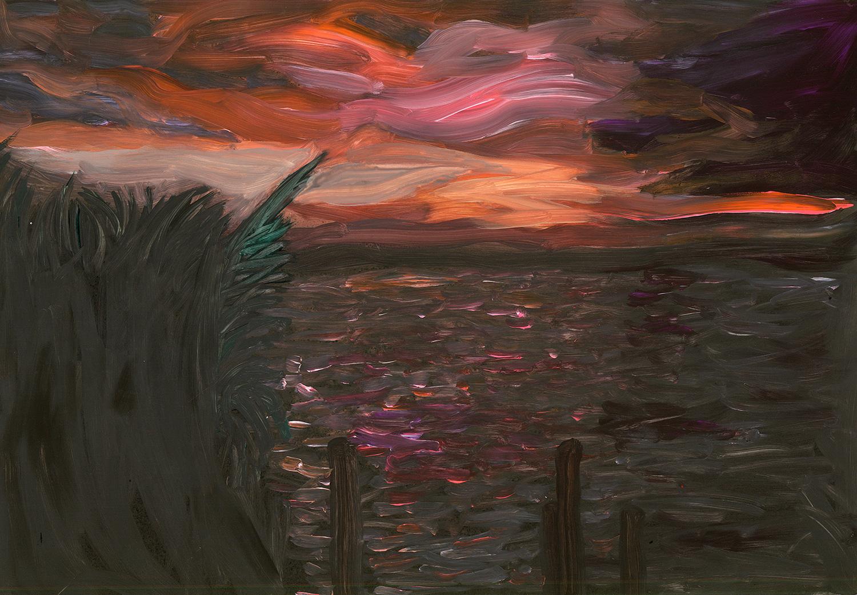New Years sunset