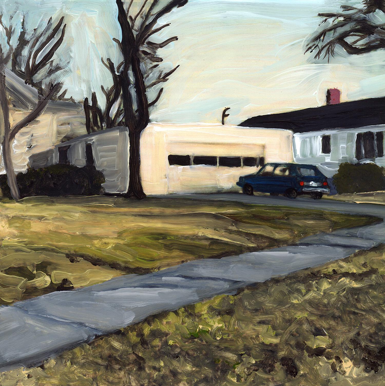 suburban scene