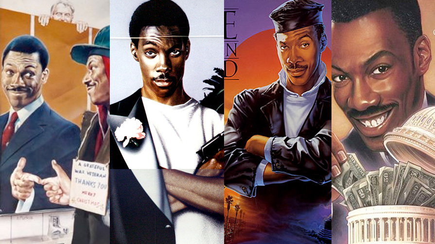 Eddie Murphy was literally THE fish out of water in  Trading Places  (1983),  Beverly Hills Cop  (1984),  The Golden Child  (1986) and  The Distinguished Gentleman  (1992).