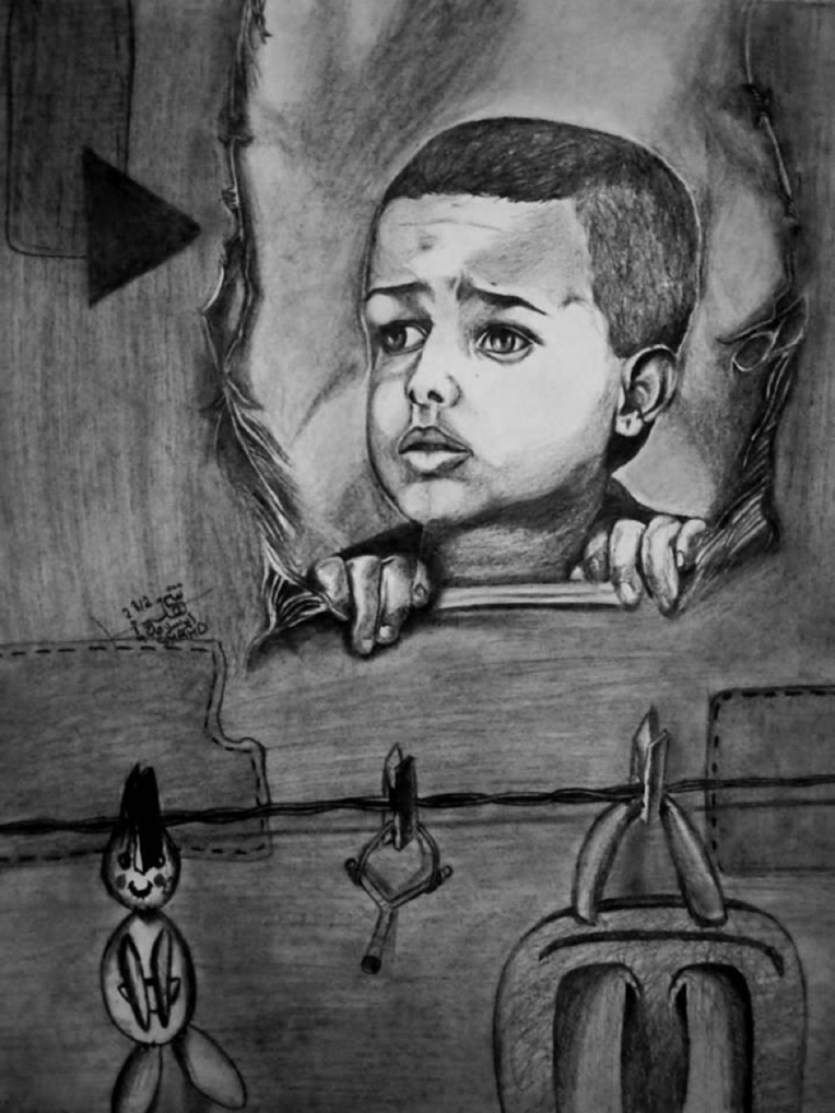 Figure 3: Children of Refugee Camps -- A Violated Childhood